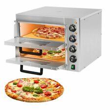 Pizza Oven Countertop 3000w 14 Pizza Oven Double Deck Layer Multipurpose