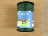 1 ROLL of  Electric fencing 40mm wide tape x 200m GREEN tape