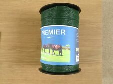 1 ROLL of  Electric fencing wide tape 40mm x 200m GREEN tape