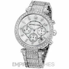 Michael Kors Quartz (Battery) Silver Strap Wristwatches