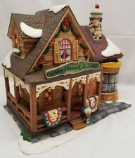 Santa's Workbench - Needlework and Quilt Shoppe - Christmas Village - 2004