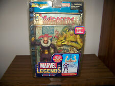 Marvel Legends Baron Zemo Unmasked Variant Avengers Action Figure & Comic