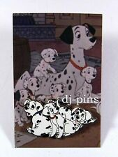 Good vs. Evil Pin and Card Dalmatian Puppies Disney Pin 48818