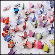 New Listing🦋Butterfly Wall Stickers🌺Magnet 3D Art Decals Home Room Decorations Wall Décor
