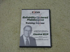 FOCUS-Reliability Centered Maintenance Training Seminar DVD by Anthony Smith PE