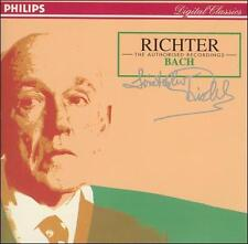 Richter - The Authorized Recordings: Bach (3 Silver Hub Discs Philips Import AM)