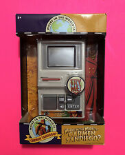 Where In The World Is Carmen Sandiego Handheld Electronic Game Brand New