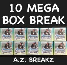 CHICAGO CUBS - 2020 BOWMAN CHROME - 10 MEGA BOX BREAK