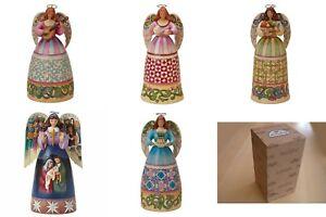 Heartwood Creek Angel Figurines Nativity Persistence Hospitality Generosity More