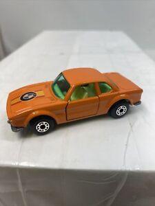 Nice Vintage Matchbox Lesney 1-75 Superfast 45 BMW 3.0 CSL in Orange VGC EX NM/M