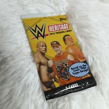 WWE 2016 Heritage Trading Cards 1986 Topps Design Factory Sealed