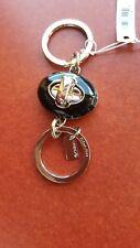 COACH black Turnlock Valet Keyring-Keychain