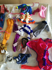 LOT  DE  VETEMENTS  DE  BARBIE  1966  A  1973  VINTAGE  ET  COLLECTOR