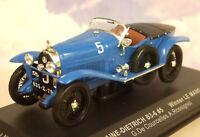 IXO 1/43 LORRAINE DIETRICH B3-6 #5 WINNER 1ST LE MANS 1925 DE COURCELLES LM1925