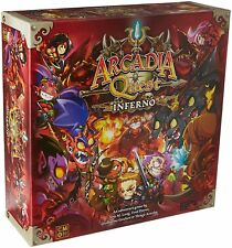 Arcadia Quest: Inferno [Board Game, Cool Mini or Not CMON, Miniatures] NEW
