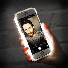 Selfie Case LIGHT UP Instagram Facebook Cover For Apple iPhone 6/6s - White