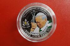 *Palau 1 Dollar 2010 PP  *Johannes Paul II. /Santo Subito/Safort Heilig