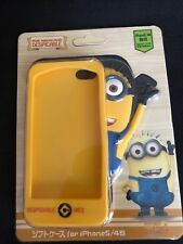 3D Despicable Me Minion Silicone Rubber Skin Case For Apple IPhone 5 5S 5C Pixar