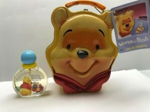 Winnie The Pooh 2pc Set 1.7 oz/50 ml EDT Spray & Tin Lunch Box Boys, As Imaged