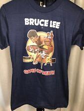Vintage GAME OF DEATH Movie Promo Iron On T-Shirt 1979 70s Bruce Lee Film VTG