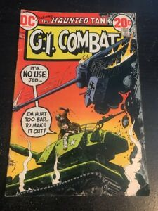 G.I.Combat#162 Excellent Condition 4.5(1973) Joe Kubert Art!!