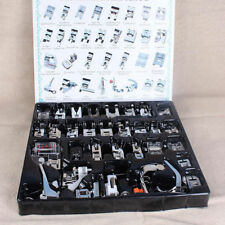 32pcs/Set Domestic Sewing Machine Presser Foot Feet for Brother Janome Singer US