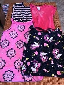 Lot of 4  Girl's Dresses Size 9/10