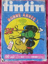Tintin-Lot magazines numéro 1 et 47-1973(1 numéroté)