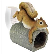 QM2869000 - Crash the Squirrel Gutter Guardian Downspout Statue