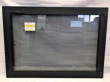 "Stoll Glass Fireplace Texture Black Bar Single Doors Single Mesh 40.75"" x 29.25"""