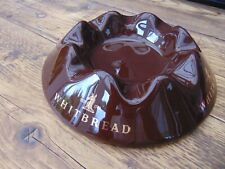"VINTAGE WHITBREAD CERAMIC ASHTRAY (10"" DIAMETER) EXCELLENT CONDITION"