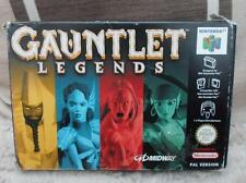 Nintendo 64 GAUNTLET LEGENDS version BOXED complete manual insert N64 game