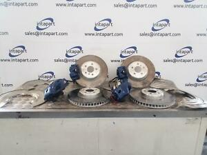 2021 BMW 3 SERIES G20 M-SPORT BRAKE CALIPER SET WITH DISC AND SHIELDS