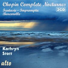 2 CD BOX CHOPIN NOCTURNES COMPLETE FANTASIE IMPROMPTU BARCAROLLE KATHRYN STOTT