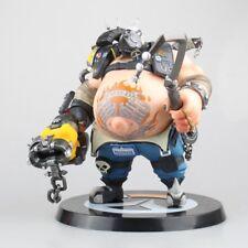 Overwatch Roadhog Action Figure Statue OW D.Va Model Reaper Junkrat Collectable