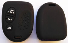 BLACK 3 BUTTON  CAR KEY COVER FOR HOLDEN COMMODORE WH WK WL VS VT VX VY VZ