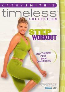 Kathy Smith Timeless Step Aerobics Workout New DVD R4