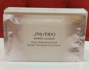 SHISEIDO White Lucent Power Brightening Mask 4pcs , No Box