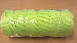 Guyrope / Guyline - Luminous Yellow - 100m Roll - 6999470