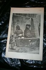 Harper's Weekly 12/11/1886 Full Page A Man and His Brother Stockade woodville