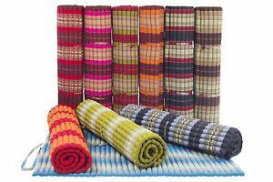 Thaikisssen Rollmatte Thaimatte Rollmatte 150x200  Kapok Große Massage Matte