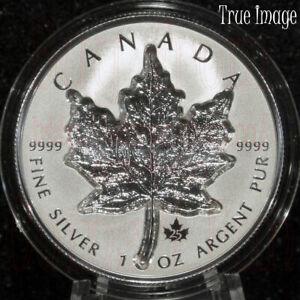 2021 - Super Incuse Silver Maple Leaf SML - $20 Pure Silver Proof Coin - Canada