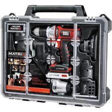 Black Decker Matrix Combo 6 Tool Kit Cordless Set 20V Drill Sander Jig Saw