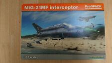 MiG-21MF Interceptor 1/72 70141 Eduart mit viel Zubehör