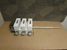 ABB DISCONNECT SWITCH OETL-NF400-S 400AMP 600VAC 3 POLE 3PH