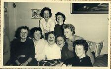 Foto Party  junge  Mädel  Mädchen 1  Vintage  1950er