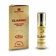 Classic 6ml By Al Rehab  Musky Woody Floral Amber Vanilla Perfume Oil/Attar