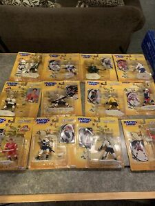 Lot Of 12 NHL 1998 Starting Lineup Figures,sealed,Messier,Yzerman,Leetch