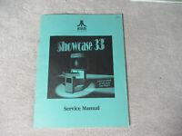 ATARI SHOWCASE 33    arcade  video game manual