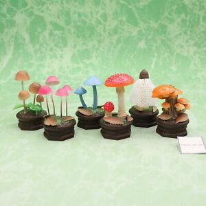 The Mushroom Figure Figurine Collection Complete Set